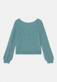 Abercrombie & Fitch - TWIST FRONT  - Jumper - blue marl - 1