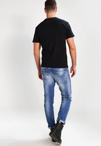 Vans - T-shirt print - black/white - 2