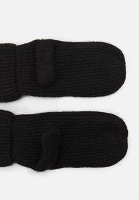 ONLY - ONLERIKA LIFE MITTEN - Rękawiczki z jednym palcem - black - 1
