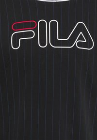 Fila - JAMY STRIPED SPORTY CREW - Sudadera - black - 2