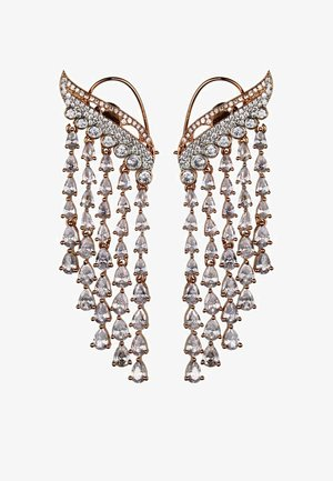 MIDNIGHT WATERFALL - Earrings - rose gold-coloured