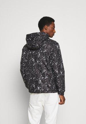 BLOUSON JACKET - Summer jacket - black pollock/black