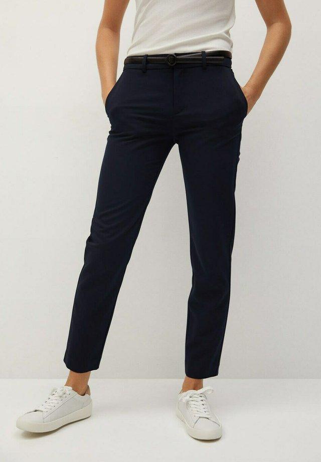 BOREAL - Pantalones chinos - dunkles marineblau