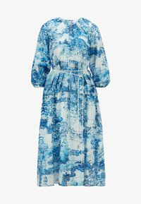 BOSS - DIVILERA - Day dress - blue, white - 5
