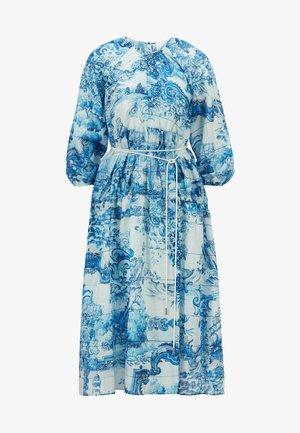 DIVILERA - Vestito estivo - blue, white