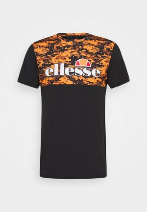 FASTELLO - Print T-shirt - orange