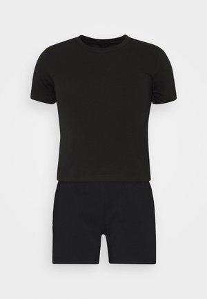 UFSET PIJIMMY PYJAMA - Pyjama set - black