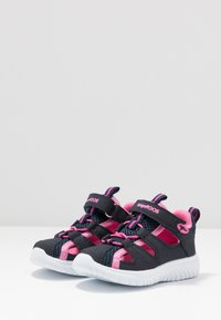 KangaROOS - KI-ROCK LITE - Sandals - dark navy/daisy pink - 3