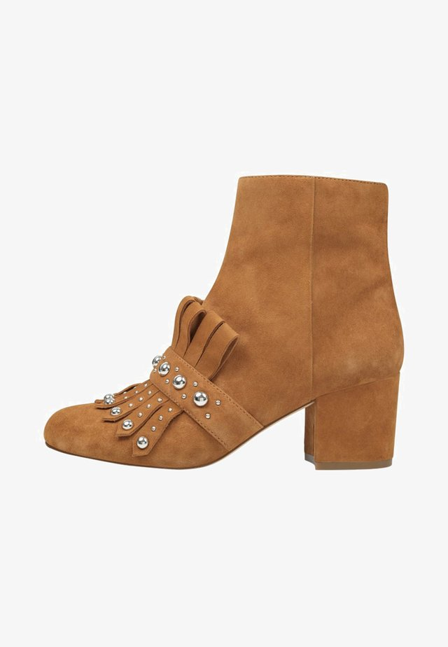 QAMILE - Bottines - brown