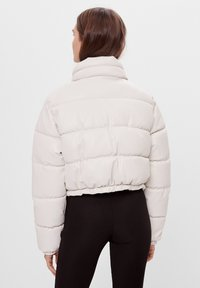Bershka - Winter jacket - white - 2
