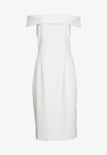 CARMEN DRESS - Tubino - snow white