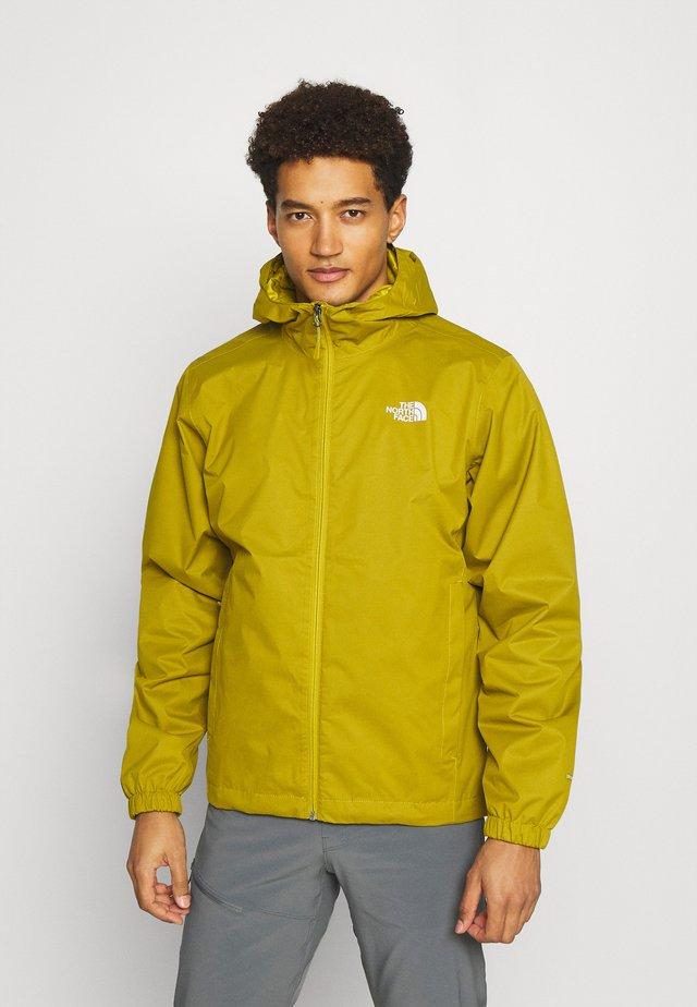 MENS QUEST JACKET - Hardshell jacket - ochre/mottled black