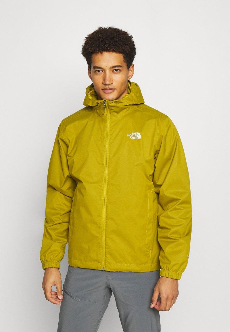 The North Face - MENS QUEST JACKET - Outdoor jacket - ochre/mottled black