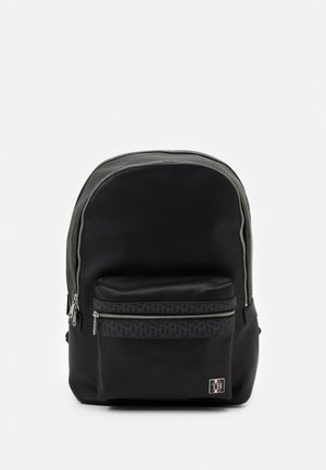 MONOGRAM BACKPACK UNISEX - Reppu - black