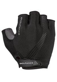 Endurance - Fingerless gloves -  black - 1