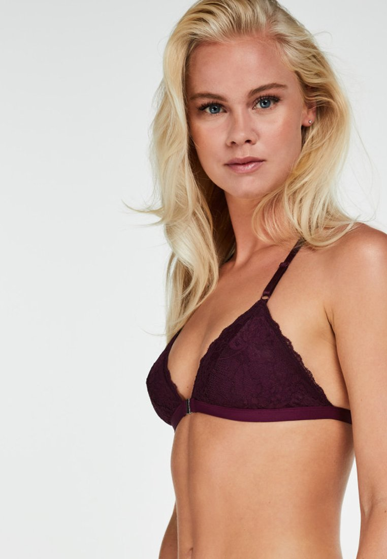 Hunkemöller - MAYA - Triangle bra - purple