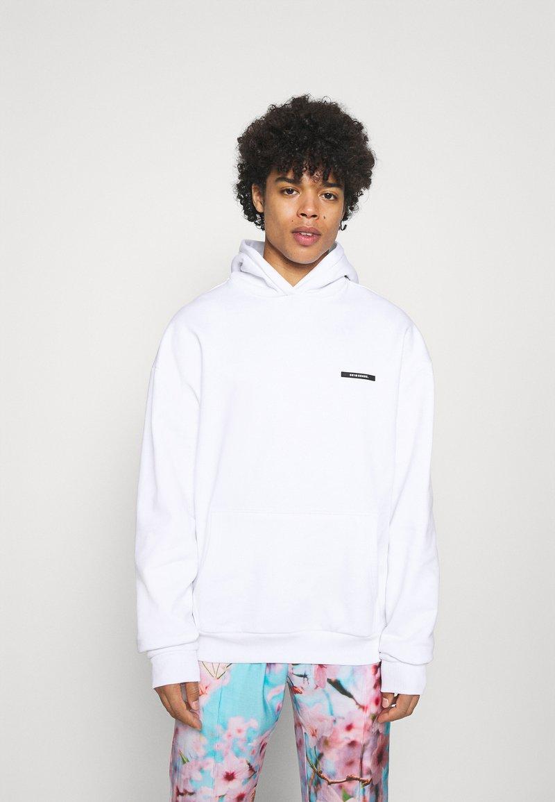 9N1M SENSE - HOODIE UNISEX - Sweatshirt - white
