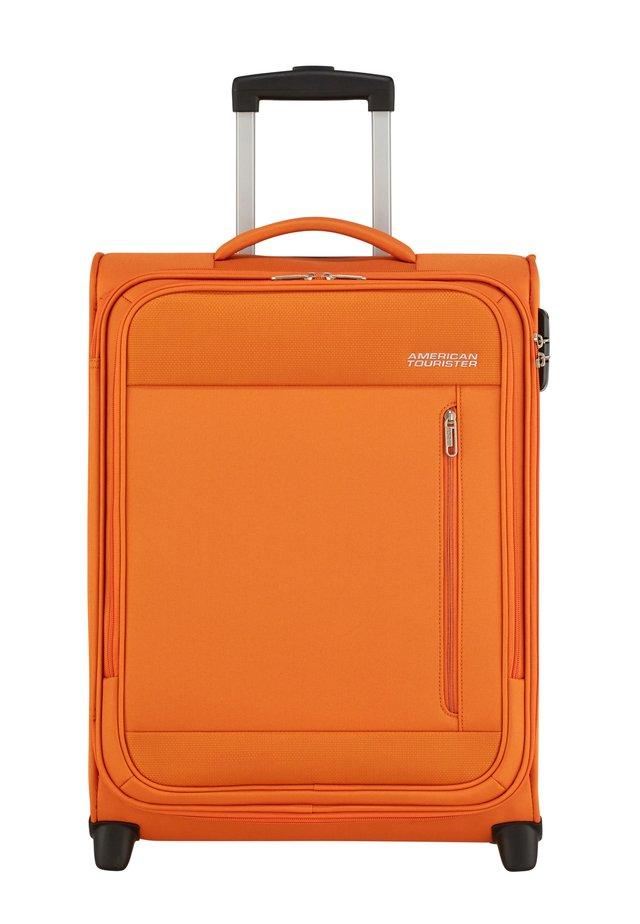 HEAT WAVE TROLLEY - Wheeled suitcase - cardigan orange