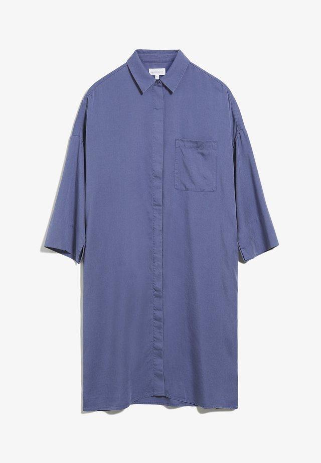 DOROTEAA - Shirt dress - blue indigo