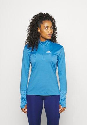 1/2 ZIP - Long sleeved top - focus blue