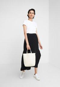 DESIGNERS REMIX - STANLEY TEXT TEE - T-shirt print - white - 1