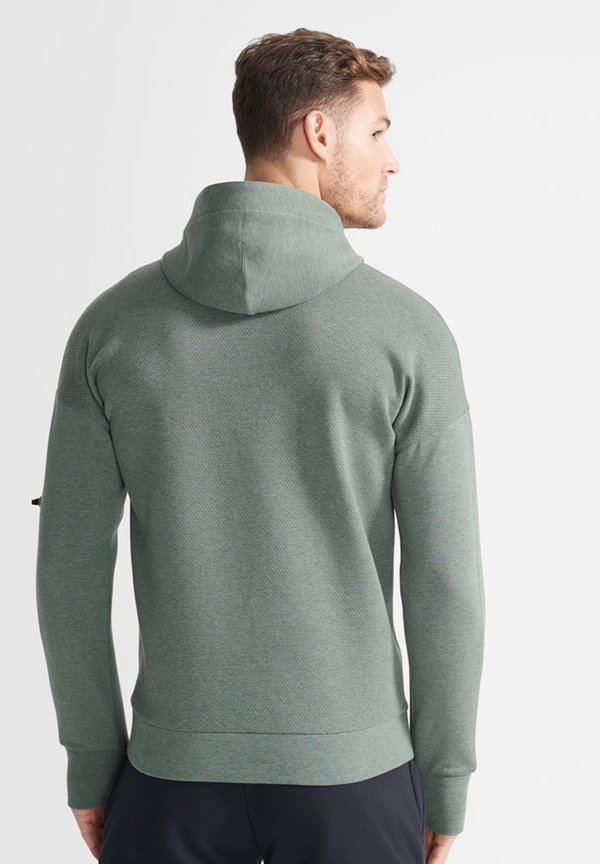 Superdry Bluza rozpinana - teal/turkusowy Odzież Męska FDYB