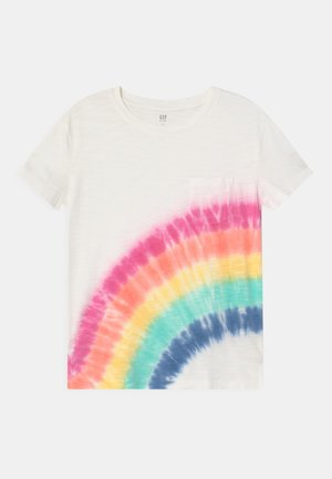 GIRL POCKET TEE - Triko s potiskem - multi-coloured