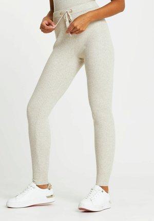 Leggings - Trousers - cream
