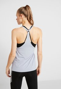 Reebok - TANK - Sports shirt - denim dust - 2