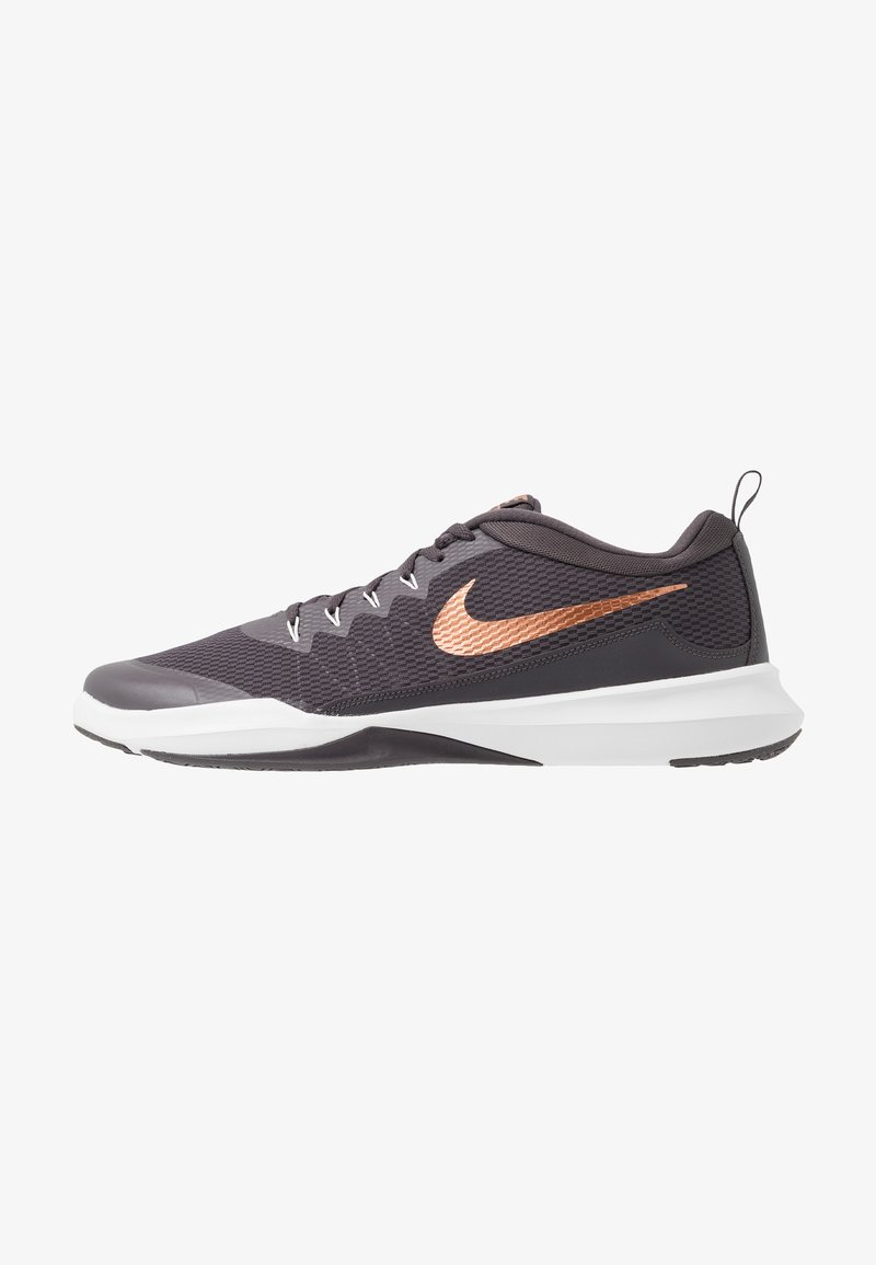 Nike Performance - LEGEND TRAINER - Træningssko - thunder grey/metallic copper/platinum tint