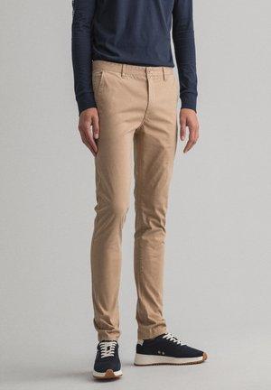 Pantalones chinos - dark khaki