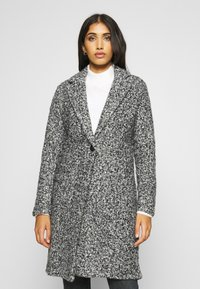 JDY - JDYLOOPY COATIGAN - Classic coat - salt/pepper - 0