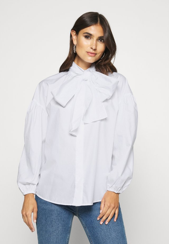TELIA - Button-down blouse - weiß