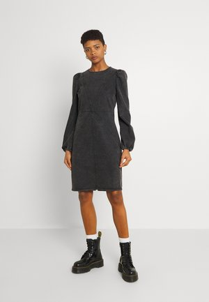 BYKALIKA SHORT DRESS  - Denim dress - black denim