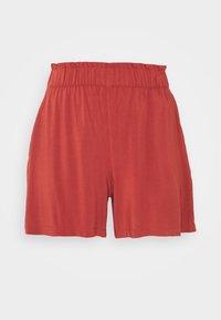 TOM TAILOR DENIM - RELAXED - Shorts - rust orange - 3