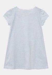Lindex - MINI BUTTERFLIES - Print T-shirt - light blue - 1