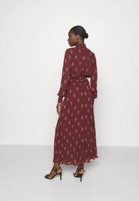 IVY & OAK - RAPA - Maxi dress - bordeaux - 2
