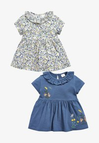 Next - 2 PACK - Day dress - blue - 0