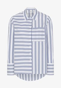 Eterna - Button-down blouse - navy/white - 3