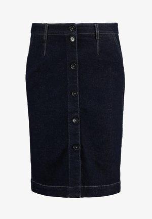 Denimová sukně - blue denim stretch