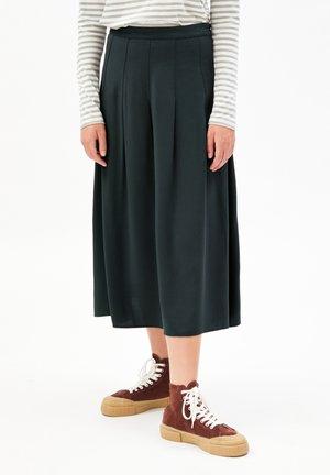 LEAAHNA - A-line skirt - vintage green