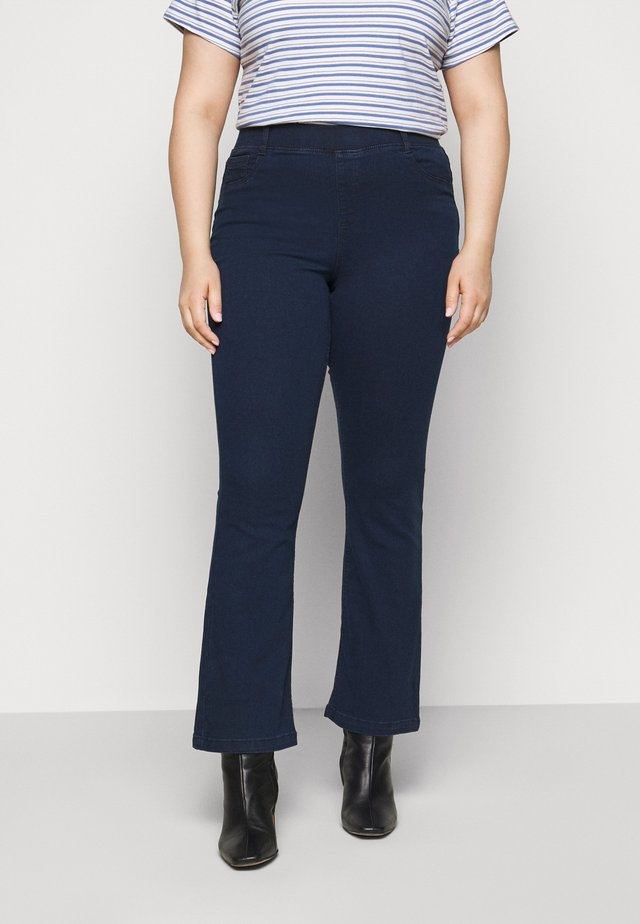 ERIN PULL ON BOOTCUT - Jeggings - dark indigo