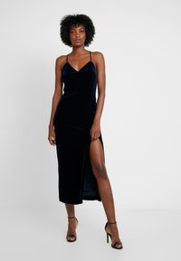 Bardot - COURTNEY SLIP DRESS - Cocktail dress / Party dress - french navy - 0