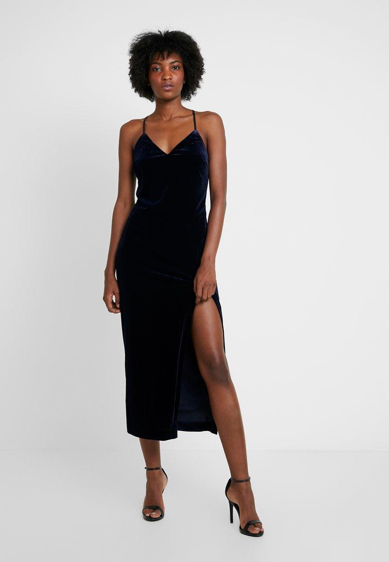 Bardot - COURTNEY SLIP DRESS - Cocktail dress / Party dress - french navy