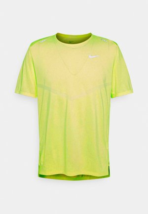 RISE - T-shirts print - volt heather/silver