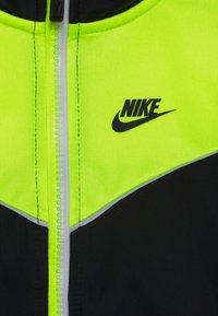 Nike Sportswear - 2 TONE ZIPPER TRICOT SET - Survêtement - black - 3