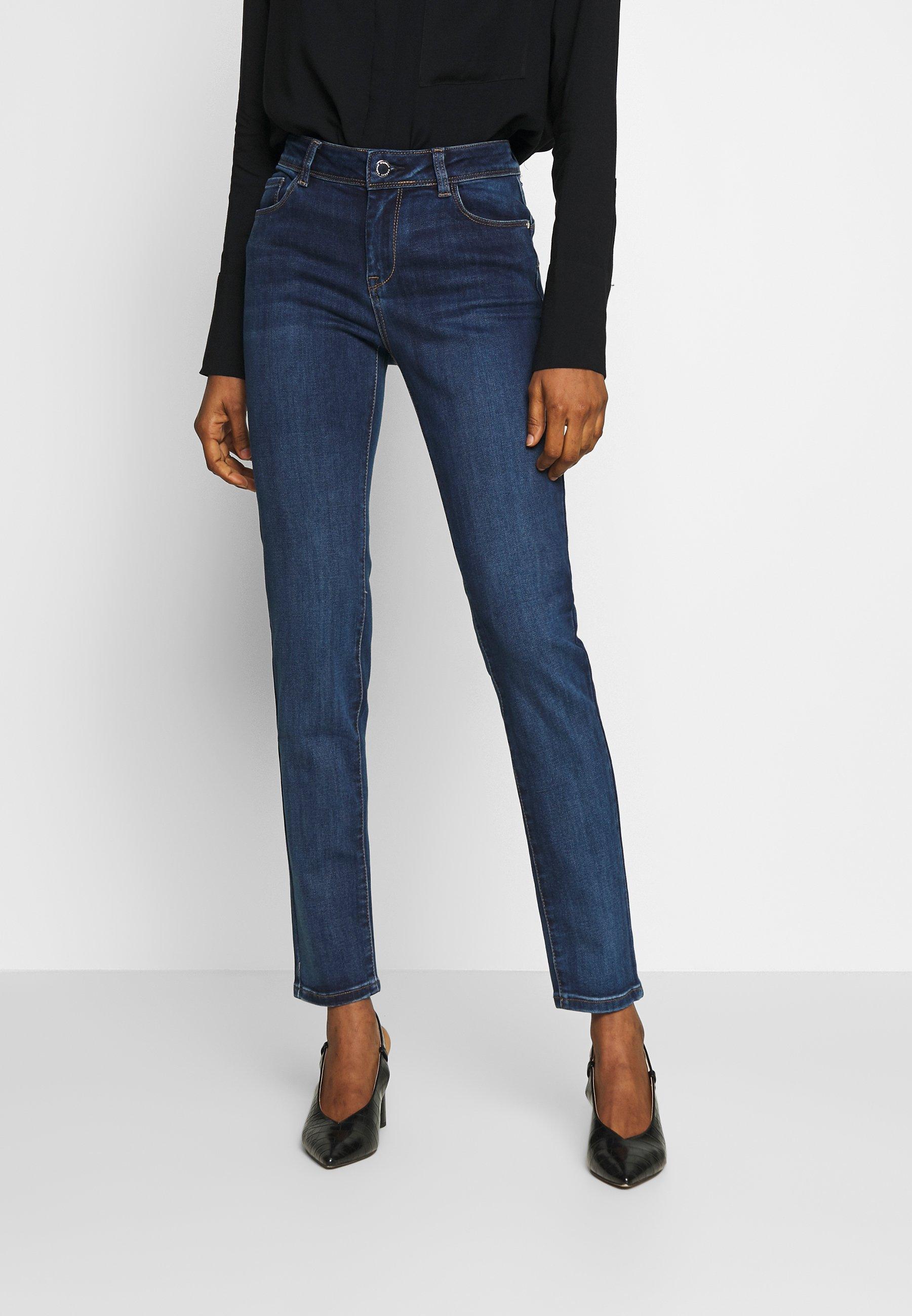 Damen POM - Jeans Skinny Fit