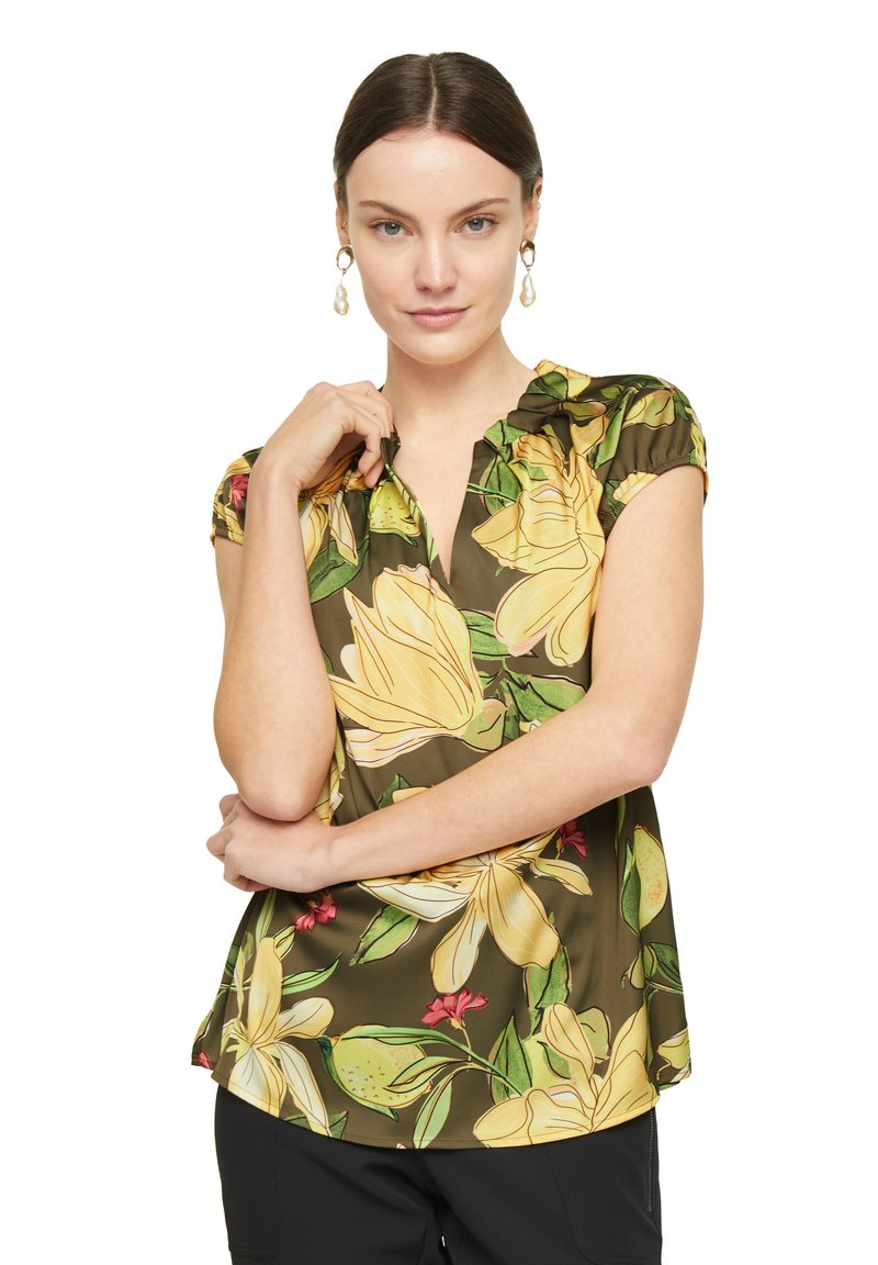 comma - Blouse - green