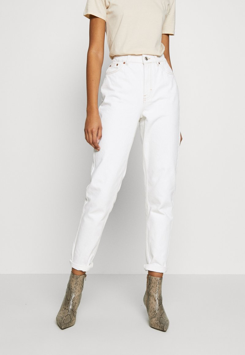 Topshop - MOM - Relaxed fit jeans - offwhite