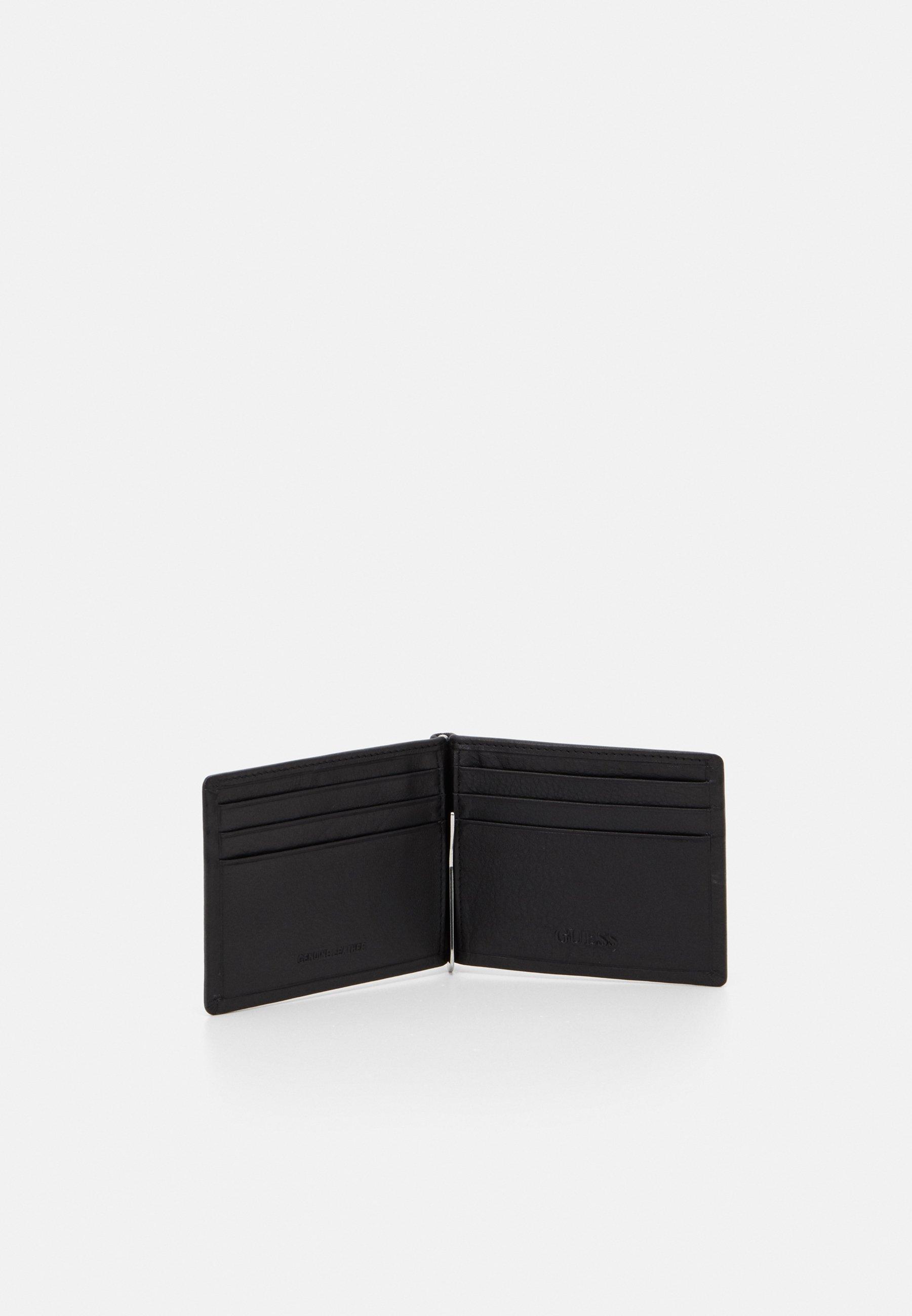 Guess TYLER MONEY CLIP CARD CASE - Geldbörse - black/schwarz - Herrentaschen axxZ9